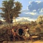 Détail de L'Automne de Poussin